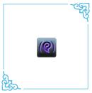 随机紫色砭石x1