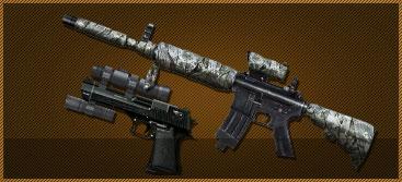 M4A1-黑虎(7天)+沙漠之鹰-S(7天)