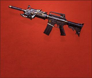 M4A1-黑龙(永久)