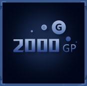 2000G币
