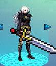 女鬼剑士复古佩剑