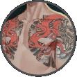 霸气石狮纹身