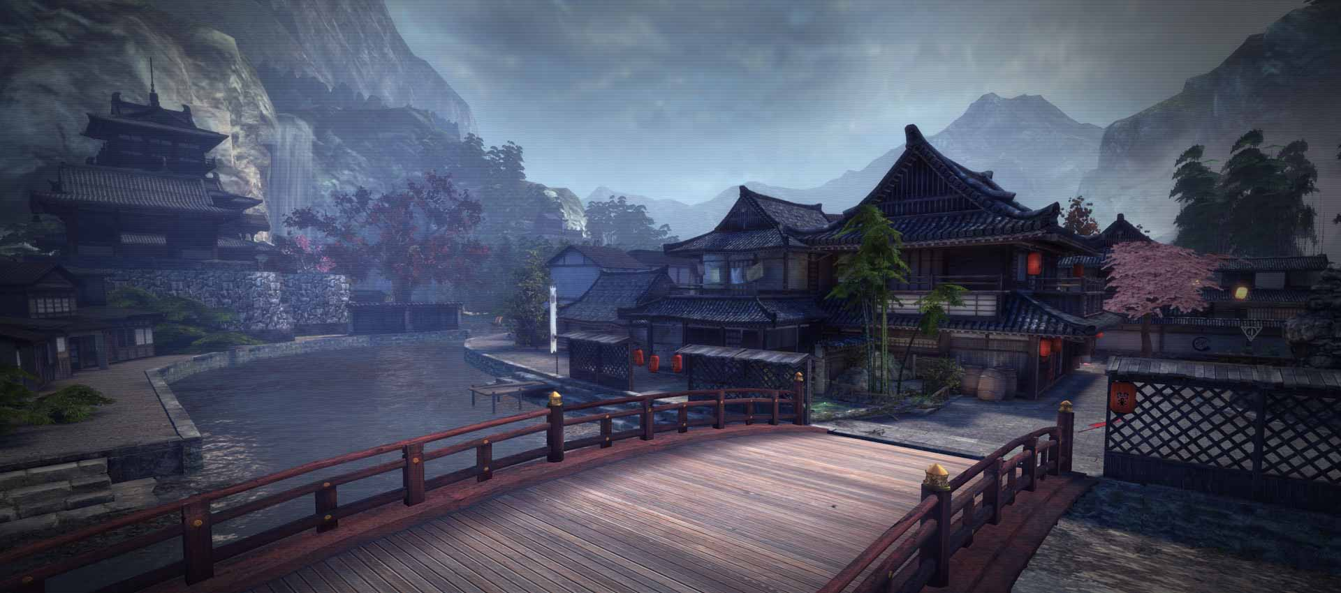 逆战樱之城地图