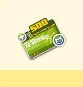 宠物经验卡+500*5