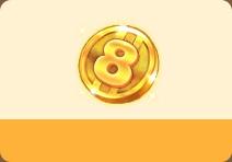 八岁生日币*1800