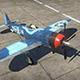 """P-47M-1-RE""""雷电""""(博斯特威克座机)"""