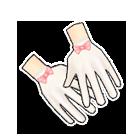 粉恋蔷薇手套
