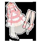 粉恋蔷薇婚纱