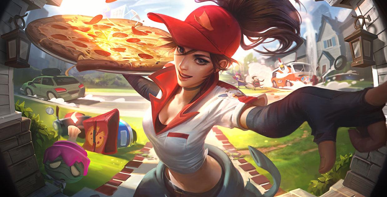 送披萨的小姐姐 希维尔