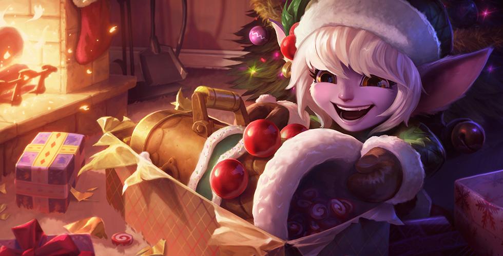 圣诞精灵 崔丝塔娜