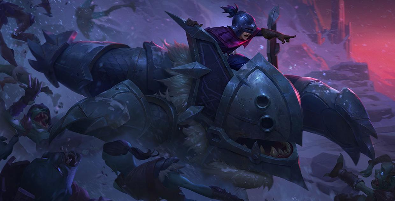 攻城巨兽 努努和威朗普