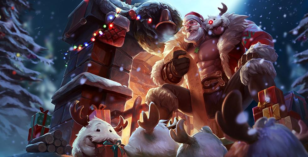 圣诞老人 布隆