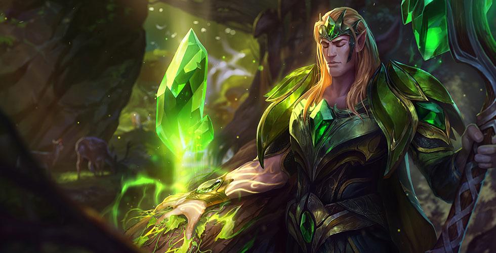 绿水晶光辉 塔里克