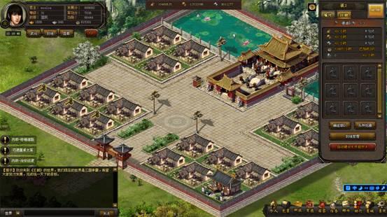 世界地图进入游戏中可以看到真实还原三国时期的古代中国地理和城池