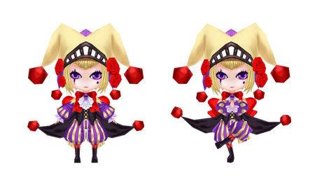 小丑 可爱lolita