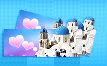 希腊爱情海双人游情侣游