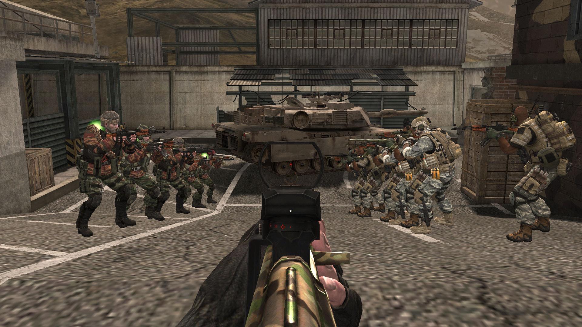 一个大型单机枪战游戏 可以联机的 进去可以选人物 每个人都有特殊
