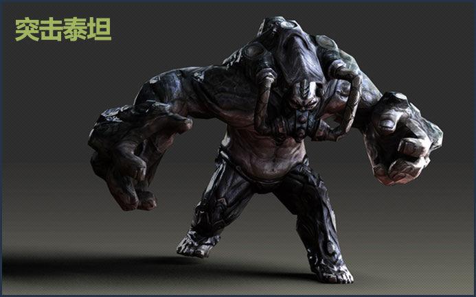 """cf 技能/""""疯狂泰坦""""的两个小弟之一,体型较小,但移动迅速,反复使用..."""