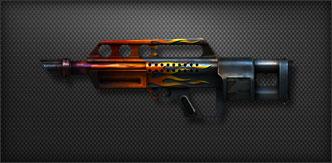cf 斯特林/在威力极大的全自动散弹枪汽锤上,追加子弹填装数用来弥补装弹...