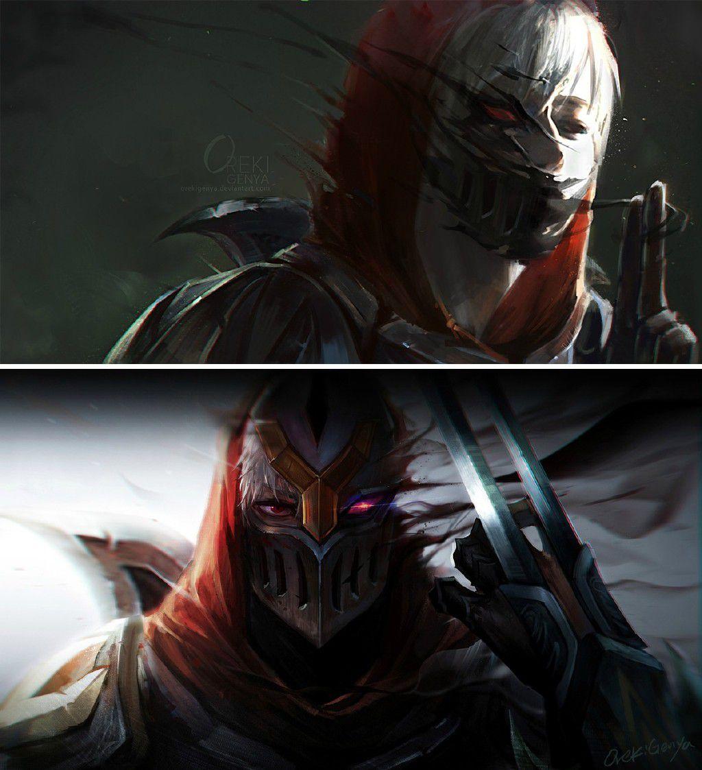 精品!大神玩家绘制超唯美劫和亚索