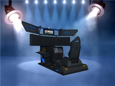 《战争雷霆》模拟飞行驾驶舱
