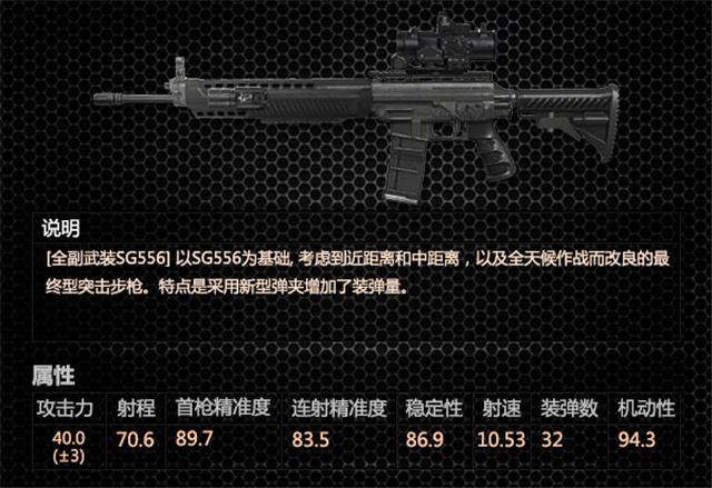 【全副武装sg556】