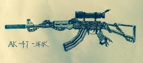 武器设计加手绘