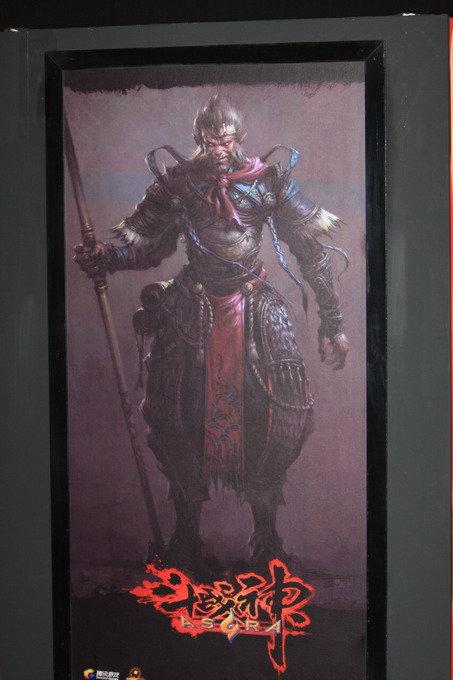 腾讯游戏嘉年华 斗战神 艺术展区高清图片