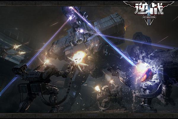 黄金枪助阵 《逆战》今日开启不限号-腾讯游戏用 - 心创造快乐