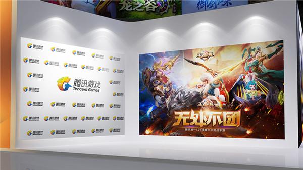图12:腾讯互娱展区COSER合影区.jpg