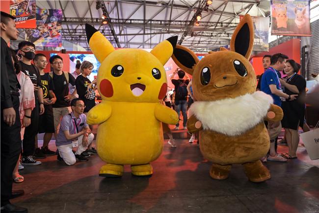"""ChinaJoy2019 Nintendo Switch(TM)展区腾讯携任天堂邀你""""奇乐同享""""""""任""""式好游戏!"""