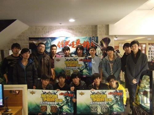 【华东上海】3月24日2012英雄联盟城市英雄争霸赛月赛谁是王者?