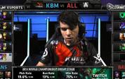 2014全球总决赛第八日D组小组赛:KBM vs ALL