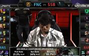 2014全球总决赛第八日C组小组赛:FNC vs SSB