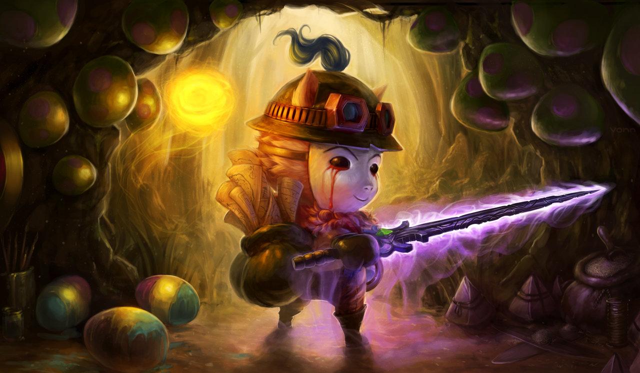 魔王的诞生:提莫-英雄联盟官方网站-腾讯游戏