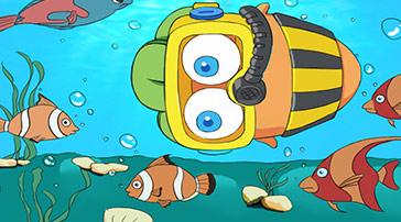 《阿波的日常》四:阿波潛水