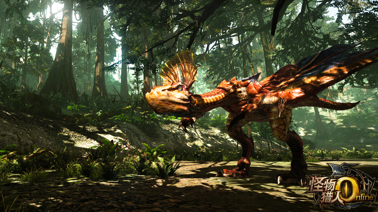 腾讯游戏与CAPCOM战略合作 怪物猎人OL 6月首测