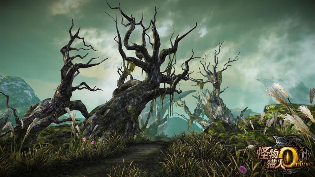 巨大的枯树似乎象征着这里曾经发生过的事情