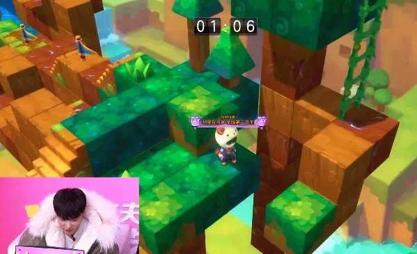 《冒险岛2》通过直播特别探访了最萌岛主张艺兴的工作现场,带领粉丝探