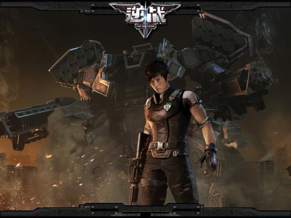 张杰倾情代言《逆战》 首度演绎游戏主题曲