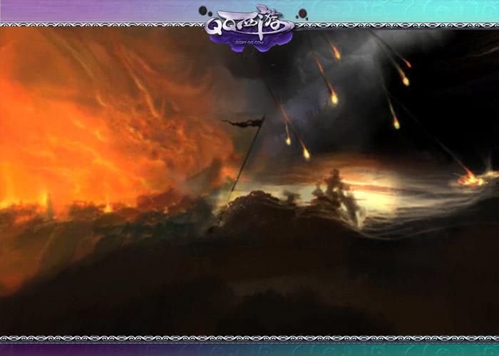 火焰山附近的碧波潭,碧波潭是九天神魔的地盘