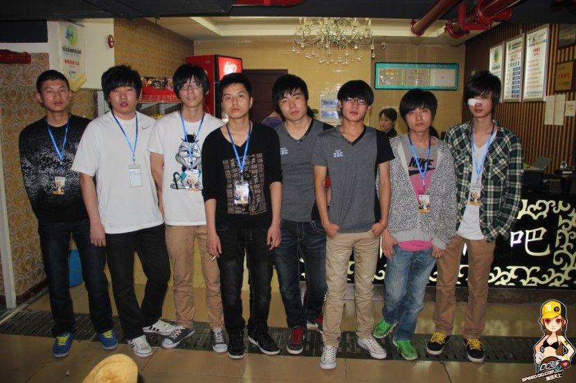 qq 车队/QQ飞车SSC2012华中分站 车队竞速2强诞生