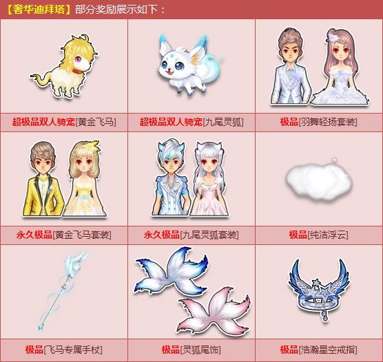 腾讯客服-qq飞车(speed)双人黄金飞马+九尾灵狐图片