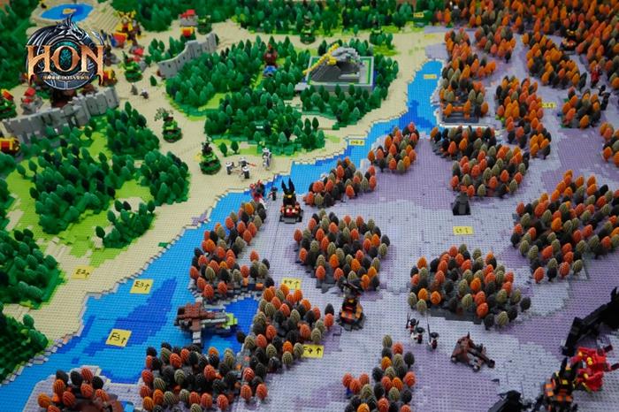 全球最大游戏地图亮相 hon就是这么任性