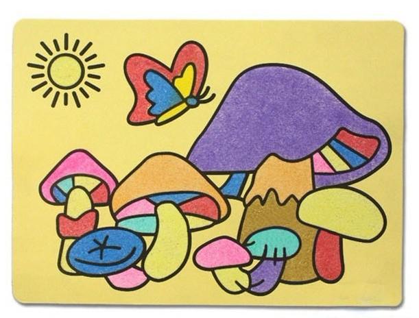 浅谈沙画的表现形式图片