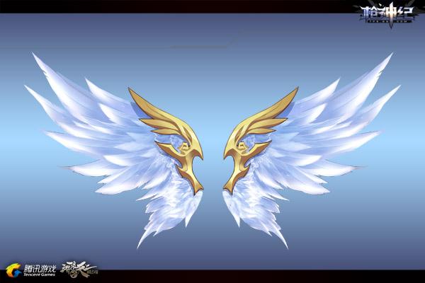 天使神圣翅膀手绘步骤
