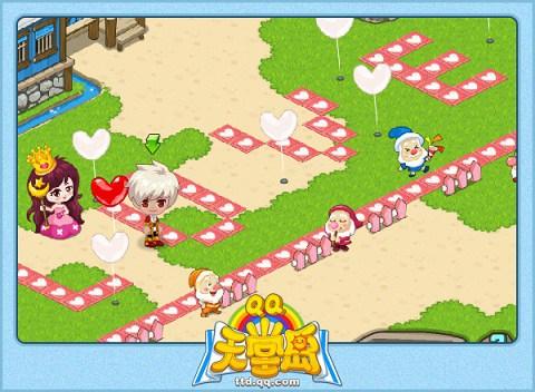 qq天堂岛》为玩家呈现最自由的组合模式