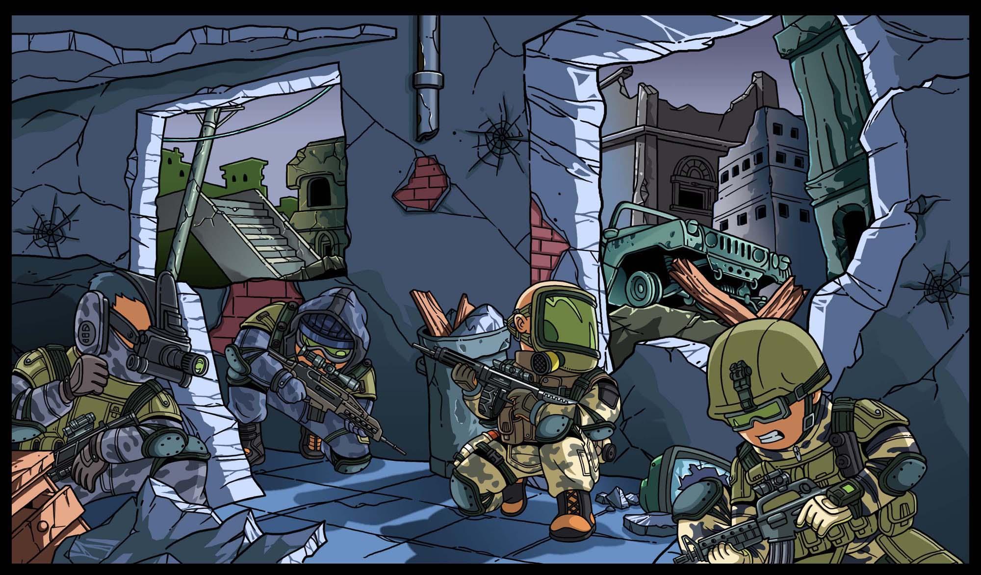 《战争前线》攻略v战争15日结束插画将揭晓-前临沂到青岛自驾游冠军图片