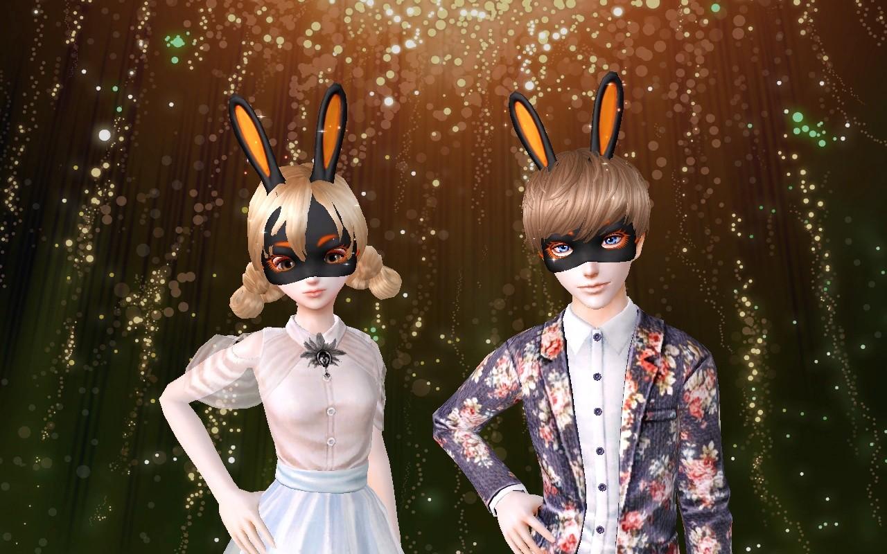 24,登录游戏就可领得超萌超可爱的小兔子面具,是不是很心动呢,快点记