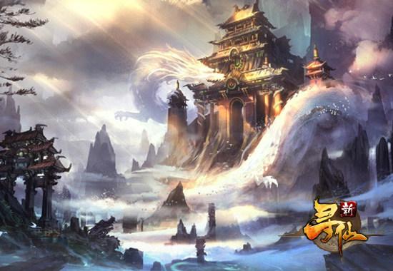 地图——中国古代道教发源地茅山,将游戏特有的天劫故事与